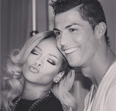 Rihanna y Cristiano Ronaldo - MundoTKM