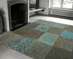 Vanaf €91 ipv €140 - Vintage kelim vloerkleden: keuze uit 4 modieuze design vloerkleden in verschillende afmetingen!