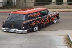 '58 Chevy sedan delivery