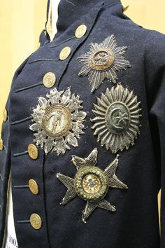 Royal Navy. Nelson's Undress Uniform, 1795-1812 pattern. National Maritime Museum Greenwich.