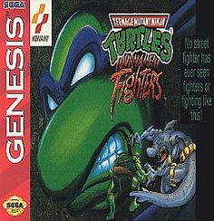 Teenage Mutant Ninja Turtles: Tournament Fighters (Genesis, 1993)