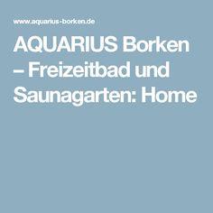 AQUARIUS Borken – Freizeitbad und Saunagarten: Home