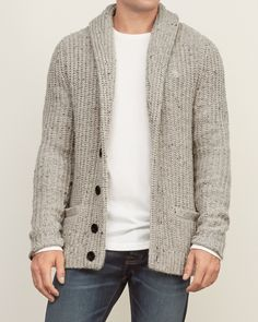 Mens - Shawl Cardigan Sweater | Mens - Sweaters | eu.Abercrombie.com