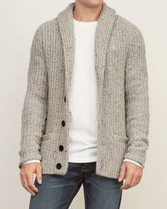 Mens - Shawl Cardigan Sweater | Mens - Sweaters | eu.Abercrombie.com