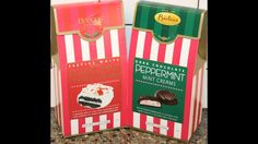 Bartons: Festive White Peppermint Cookie Creams and Dark Chocolate Peppe...