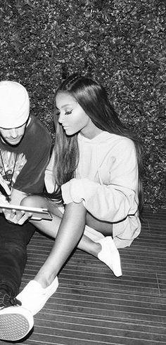 Ariana Grande mit Mac Miller