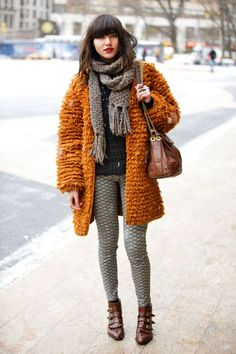 Natalie Suarez spotted at #NYFW in the Joie 'Avis' sweater