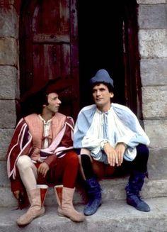 """""""Non ci resta che piangere"""" Italian comedy by Roberto Benigni and Massimo Troisi"""