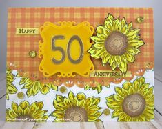 Happy 50th, 50th Anniversary, Challenges, Frame, Decor, Picture Frame, Decoration, Decorating, Frames