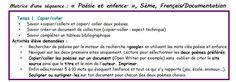 Projet français et documentation, 5ème. Du copier-coller au copier-créer, séance1