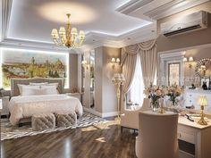 Modern Luxury Bedroom, Luxury Bedroom Design, Master Bedroom Interior, Modern Master Bedroom, Home Room Design, Luxury Decor, Luxurious Bedrooms, Contemporary Bedroom, Salons Cosy