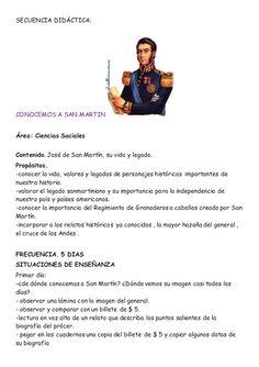 Secuencia didáctic San Martin