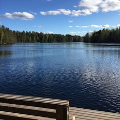 Lake in Finland #sammatti #mökki
