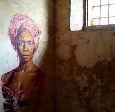 Prison wall art