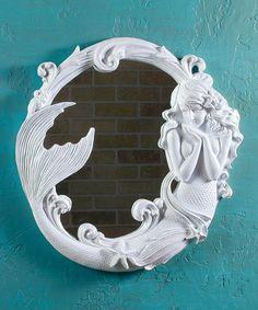 Look what I found on #zulily! Mystical Mermaid Mirror #zulilyfinds