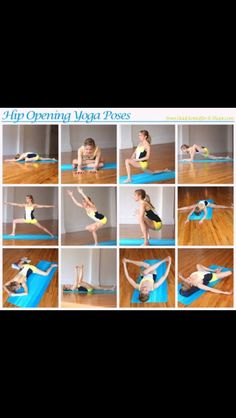Yoga hip openers  Hurts so good!