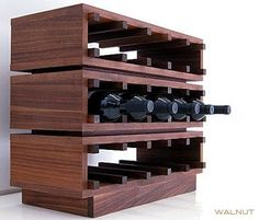 Now days, wine storage come with colorful model and concept. About colors you can painting your wine storage with your favorite color or you can mix match with your room theme colors. Cool Wine Racks, Unique Wine Racks, Modern Wine Rack, Wine Display, Bottle Rack, Bottle Opener, Wine Cabinets, Italian Wine, Wine Racks