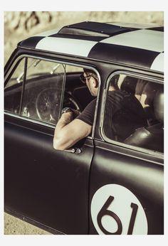 Mens's Cars Series _ Jacqueline & Dave by Laurent Nivalle, via Behance