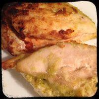 O cestinho da mamã     : Peitos de frango recheados com pesto e mozzarella