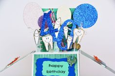 Birthday card for Dentists Birthday card for by MissFrangipani