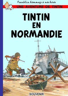 Tintin en Normandie Plus Book Cover Art, Comic Book Covers, Comic Books, Herge Tintin, Comics Illustration, Bd Comics, Vintage Comics, Comic Character, Photos