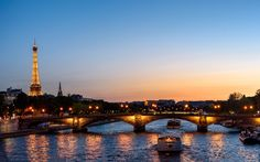 The Paris at Sunset Wallpapers in HD K and wide sizes