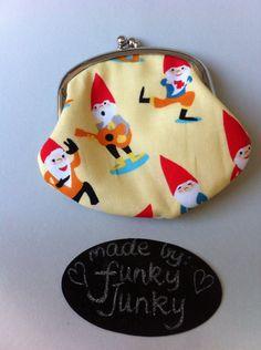 Cute gnome coin purse.