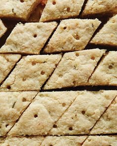 Lemon Rosemary Shortbread - Holiday Cookies for Sweet Paul magazine Just Desserts, Delicious Desserts, Dessert Recipes, Yummy Food, Tasty, Holiday Cookie Recipes, Holiday Cookies, Biscuits, Sweet Paul