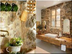 Lakberendezési ötletek, rusztikus - Antik bútor, egyedi natúr fa és loft designbútor, kerti fa termékek, akácfa oszlop, akác rönk, deszka, palló House Design, Cottage, House, Stone Cottage, Rustic Home Design, Rustic Furniture, Home Decor, Interior Design, Rustic House