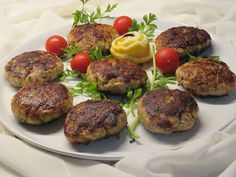 - one news page Mince Meat, Salmon Burgers, Baked Potato, Main Dishes, Baking, Ethnic Recipes, Greece, Sausages, News