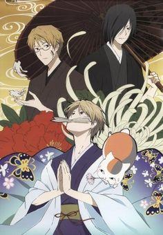 Natori & Tanuma & Natsume & Madara | Natsume Yuujinchou #anime