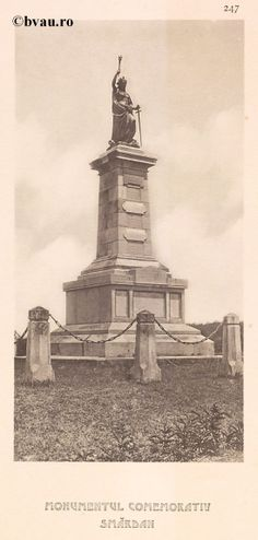 """Monumentul Comemorativ Smârdan, 1902, Romania. Ilustrație din colecțiile Bibliotecii Județene """"V.A. Urechia"""" Galați. http://stone.bvau.ro:8282/greenstone/cgi-bin/library.cgi?e=d-01000-00---off-0fotograf--00-1----0-10-0---0---0direct-10---4-------0-1l--11-en-50---20-about---00-3-1-00-0-0-11-1-0utfZz-8-00&a=d&c=fotograf&cl=CL1.44&d=J249_697980"""