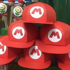 Cupcakes Super Mario, Super Mario Bros, Lego Super Mario, Super Mario Birthday, Mario Birthday Party, Super Mario Party, Mario Crafts, Mario E Luigi, Little Mermaid Parties