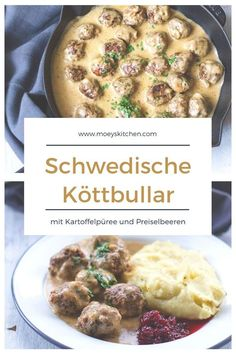 All you need is Hack: Schwedische Köttbullar - Amazing Foods Menu Recipes Grape Recipes, Beef Recipes, Chicken Recipes, Healthy Recipes, Breakfast Recipes, Dinner Recipes, Scandinavian Food, Healthy Eating Tips, All You Need Is