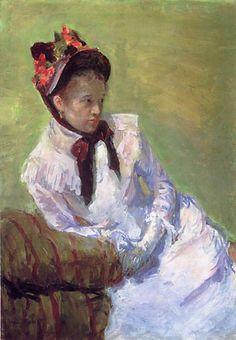 Mary Cassatt (1844-1926). Self-portrait, 1878.