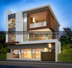 modern exterior design your dream house 3 Storey House Design, Bungalow House Design, House Front Design, Design Your Dream House, Modern Exterior House Designs, Modern House Design, Exterior Design, House Architecture Styles, Architecture Design