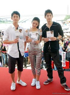 Autumn's Concerto--Chris Wu, Ady An, and Vanness Wu @ press conference All kinds of hot boyness going on here! Autumns Concerto, Vaness Wu, Show Luo, Taiwan Drama, Best Dramas, Series Movies, Korean Actors, Korean Drama, Conference