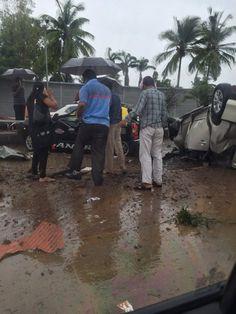 3 die in major accident on Eastern Freeway, Chembur entry blocked