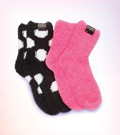 Oh so cozy! #VSPINK #Socks