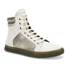 Kenneth Cole Double Header Mixed Media Sneaker #KennethCole #FashionSneakers