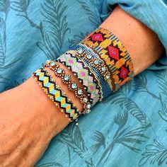 Des bracelets agréables à porter et à associer , haut en couleur