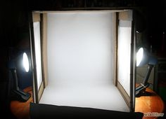 DIY Lightbox, from wikiHow