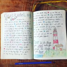 As March draws to a close it feels wonderful to read all the great things in my life for which I am grateful. This was part of my #marchmindfulness challenge. . . . #bulletjournal #bulletjournaljunkies #bujo #lighthouse #grateful #gratitude #gratitudelog #mindfulness #anxiety