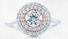 Engagement ring from Stuller