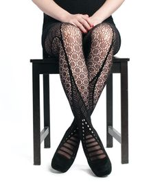 CE0355    Lace Pattern Tights    http://www.cestmoiclothing.com/tights.aspx