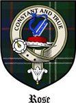 Rose Clan Badge / Crest / Tartan