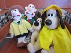 This week I would like to highlight some great Wallace and Gromit collectables that we have. These great plush toys are from the 1995 movie A Close Shave. They include Wallace, Gromit and Wendolene. The large Gromit is a backpack … Continue reading → 1995 Movies, Close Shave, Highlight, Backpack, Plush, Teddy Bear, Christmas Ornaments, Tags, Holiday Decor