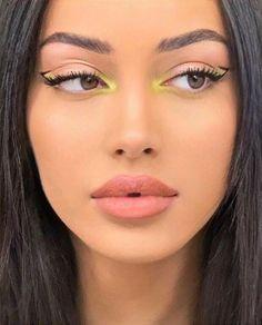 Edgy Makeup, Makeup Eye Looks, Eye Makeup Art, Pretty Makeup, Skin Makeup, Mac Makeup, Daily Makeup, Drugstore Makeup, Small Eyes Makeup