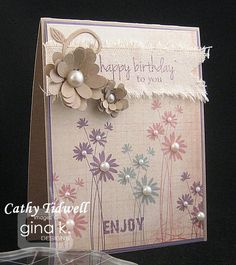 Cat's Creations: Gina K Design May Release Inspiration Hop Day 3!!