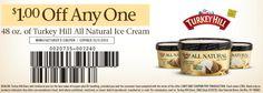 Turkey Hill ice cream Expires 10-31-13